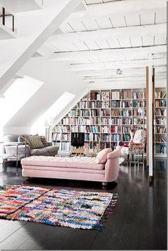 case e interni - colore rosa, pink, interior design