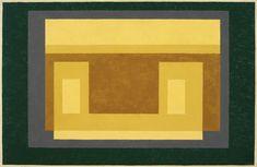 Josef Albers Variant / Adobe, 1948–1955 oil on masonite 23 × 35 in. (58.4 × 88.9 cm) 1976.1.1162