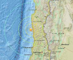 BREAKING: 8.3m earthquake strikes off coast of #Chile. Strong aftershock being reported now #ChileEarthquake