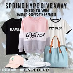 WOMENS SPRING HYPE GIVEAWAY