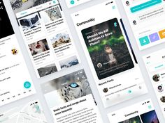 This is the whole interface of Nature Watch app design and the animation and web design still in work Hope you like it    Thank you for the invitation from @Sunny. I am happy to join the B&B t...