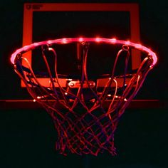 Ultra Bright LED Basketball Rim Lighting Kit - Red