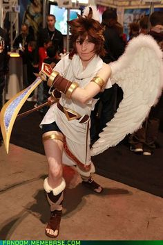 Pikminlink as Pit from Kid Icarus
