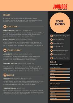 free resume template plantilla gratis de currculum vitae - Contemporary Resume Templates Free