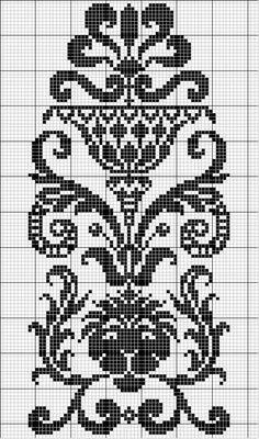 Other 29   Free chart for cross-stitch, filet crochet   gancedo.eu