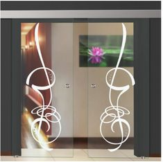Our elegant supply of Toughened / tempered glass Doors which is the type of safety glass processed by controlled thermal or chemical treatments to . Double Glass Doors, Sliding Glass Door, Tempered Glass Door, Safety Glass, Vector Design, Leaves, Wreaths, Elegant, Home Decor