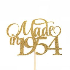 Excited to share this item from my shop: Made In 1954 Cake Topper Birthday Cake Topper Birth Year Cake Topper Birthday Cake Topper Sixty Five Cake Topper 65 Cake Topper 65th Birthday Party Ideas, 40th Birthday Cake For Women, 1954 Birthday, 40th Birthday Cake Topper, 40th Cake, Birthday Woman, 80th Birthday, Birthday Cards, Birthday Wishes