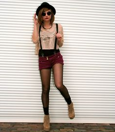 absolutely LOVE this outfit...i think i need to invest in some suspenders now