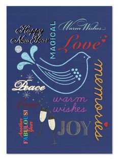 Happy New Years Day Card Front
