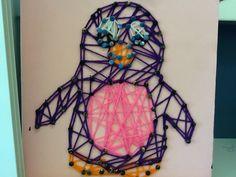 'Penguin' String Art HS-MD