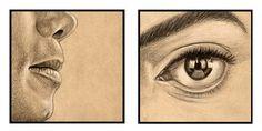 """""""Lips - Eyes"""" by Helena Kadlcikova"""