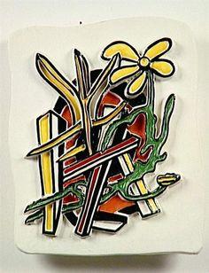 'der gelb blume' von Fernand Leger (1881-1955, France)