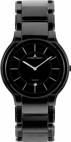 Jacques Lemans Men's 1-1581D Dublin Classic Analog with HighTech Ceramic and Sapphire Glass Watch Jacques Lemans. $381.00. Quartz movement. Sapphire glass. Water-resistant to 50 m (165 feet). Case diameter: 41 mm. Classic watch, hightech ceramic. Save 12%!