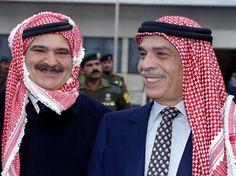 King Hussein & prince Hassan