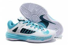 buy online 36140 1eaf6 Nike Lebron 10 James Olympic Homme Blanc Bleu WEZ3K