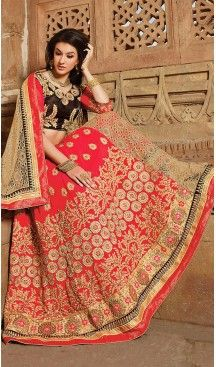 #Georgette Fabric Circular Style Lehenga Choli in #Red Color | FH457971614 #heenastyle, #designer, #lehengas, #choli, #collection, #women, #online, #wedding , #Bollywood, #stylish, #indian, #party, #ghagra, #casual, #sangeet, #mehendi, #navratri, #fashion, #boutique, #mode, #henna, #wedding, #fashion-week, #ceremony, #receptions, #ring , #dupatta , #chunni , @heenastyle , #Circular , #engagement