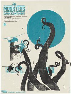 Monsters: Dark Continent (2014) ~ Alternative Movie Poster by Ben Mcleod…