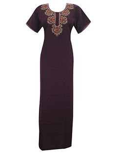 Caftan Kaftan Dress Neck Embroidered Moroccan Night Dresses Medium Mogul Interior http://www.amazon.com/dp/B00VNNMCLI/ref=cm_sw_r_pi_dp_Ta3ivb0X8FD9T