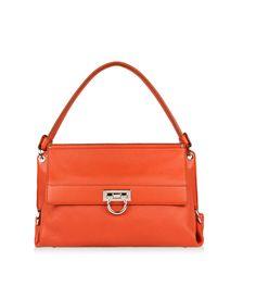 Ferragamo Shoulder Bag in Calfskin
