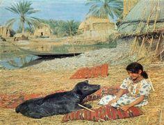 Magnificent Sumerian Ma'dan life of South Iraq - Arabic music - الاهوار ...