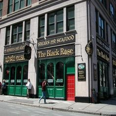 Black Rose Boston Nightlife Irish Pub Live Music 160 State St Boston · Red DoorsBoston MassachusettsBlack ... & If youu0027re hungry for pizza in Boston this is definitely the spot ... pezcame.com