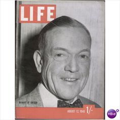 US MAGAZINE LIFE AUG 12 1940 Listed on Ebid by Tilleys of Sheffield