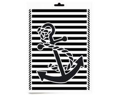 Schablone  - Anker Meer