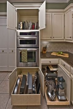 The Chronicles of Sage Kitchen Cabinets Ideas and Remodel If you're planning a kitchen remodel, then you could use it in order to recreate the present layout of your kitchen and move units around or change styles. A kitchen remodel… Continue Reading → Pull Out Kitchen Shelves, Diy Kitchen Cabinets, Kitchen Cabinet Organization, Kitchen Drawers, Kitchen Cabinet Design, Kitchen Redo, New Kitchen, Organization Ideas, Cabinet Ideas
