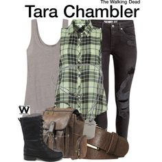 Inspired by Alanna Masterson as Tara Chambler on The Walking Dead.