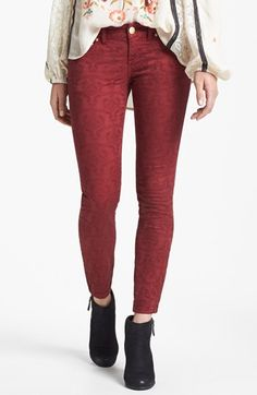 These actually look really nice in person. Free People Jacquard Pants | Nordstrom