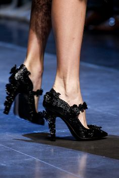 Dolce & Gabbana Prêt à Porter Primavera/Verano 2016 Dolce & Gabbana, Stilettos, Cute Shoes, Me Too Shoes, Jimmy Choo, Christian Louboutin, Fashion Week 2016, Estilo Fashion, Italian Fashion