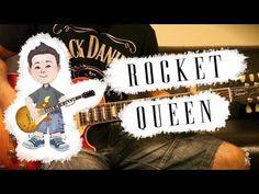Rocket Queen  Guns N Roses Slash Guitar Cover HD