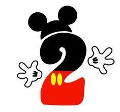 Número 2 de Mickey mousse