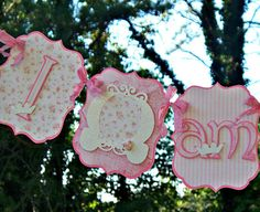Pquiero un banner asi que diga Ivannarincess High Chair Banner Shabby Chic by MyBellaBirthdays on Etsy, $22.50