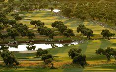 Arcos Holes 6 and 7, Costa de la Luz, Spain.  Golf Paradise on the Spain / Portugal border.    #overseashomes  #costadelaluzspain