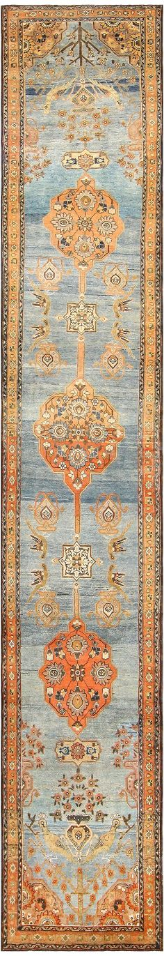 Antique Persian Malayer Runner 47972 Main Image - By Nazmiyal. Beautiful Persian carpet: