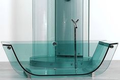 Here's the Thing About Glass Bathtubs - Flipped - Curbed