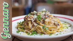 Simple Pasta with Dolcelatte & Red Chicory | Gennaro Contaldo
