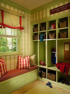 Mud Room. Catlin Design.