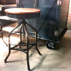 Wright Stool | Vintage Industrial Furniture