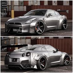 """""""Liberty Walk Nissan GTR! This I believe is Man Made Wonder! This is my Dream Car always has been. Always will be!"""