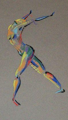 figure drawings on Pinterest | Dancers, Gjon Mili and Yoga