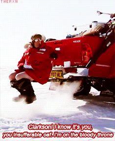 Top Gear Polar Special: Clarkson you moron