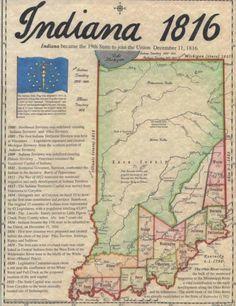 INDIANA 1816 'Hoosier Hospitality'