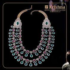 Indian Jewellery Design, Indian Jewelry, Jewelry Design, Kit Diy, Jewelry Show, Temple Jewellery, Necklace Designs, Diamond Jewelry, Gold Jewelry