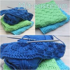 My respite: dishcloths - project Knitting Stitches, Knitting Patterns, Rum, Textiles, Basket Weaving, Clothing Patterns, Knitted Hats, Diy And Crafts, Knit Crochet