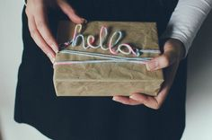 DIY: Hello Sign - Fawn Magazine - on the blog -  #tutorial #DIY #hello! #forthehome #giftidea #neon #rainbow #inspiration @Nadia Draga     http://www.fawnmag.com/article/diy-hello-sign/
