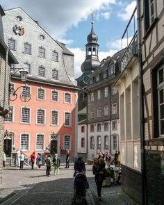 Monschau - die Stadt der Tuchmacher  #monschau #eifel #deinnrw
