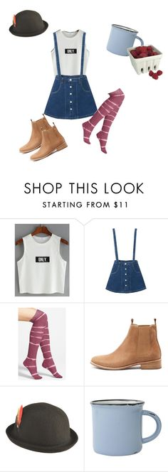 """""""Untitled #15"""" by cici411 on Polyvore featuring WithChic, Stance, Mollini, kangol, canvas and Artland"""