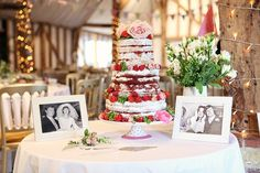 Anna and James' relaxed country tea party wedding at South Farm